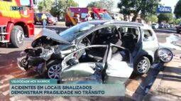Acidentes em locais sinalizados demonstram fragilidade no trânsito