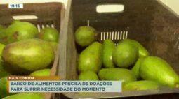 Banco de alimentos precisa de doações para suprir necessidade do momento