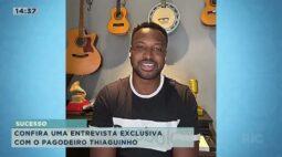 Confira entrevista exclusiva com o pagodeiro Thiaguinho