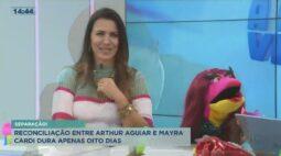 Reconciliação entre Arthur Aguiar e Mayra Cardi dura apenas oito dias