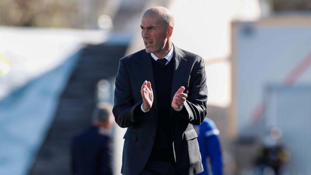 """Zidane minimiza pressão do clássico contra o Barcelona: """"São os mesmos três pontos"""""""