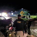 Grave acidente na Rodovia do Xisto deixa dois mortos, em Araucária