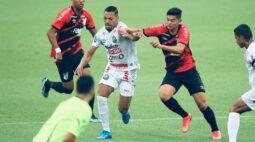 Em plena Arena da Baixada, Operário domina o jogo e goleia o Athletico por 4 a 0