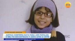 Caso Rachel Genofre: depois de 11 anos réu é encontrado e justiça confirma data para júri popular