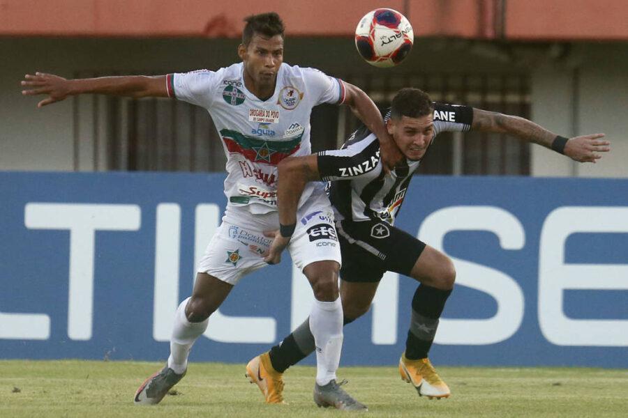 Botafogo empata com a Portuguesa-RJ pelo Campeonato Carioca