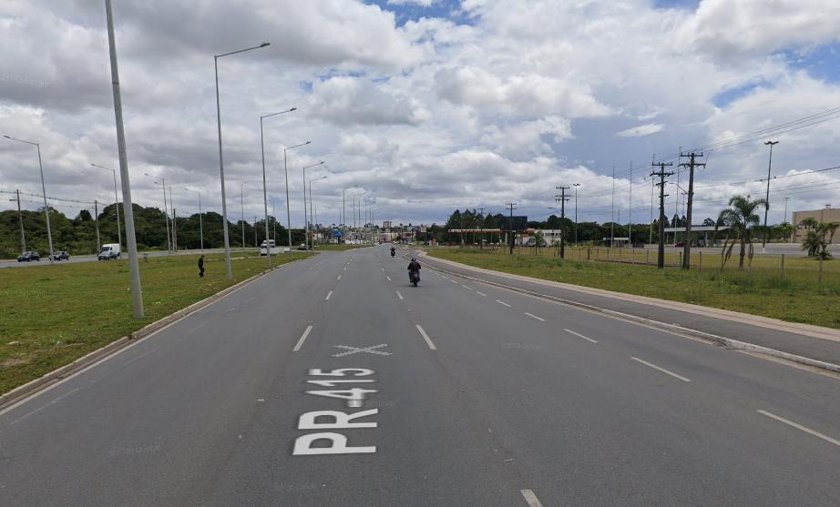 Cabeça de motociclista desaparece após grave acidente na Grande Curitiba
