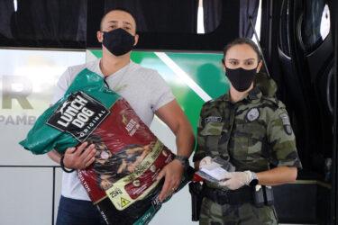 Batalhão Ambiental lança campanha solidária no seu aniversário de 64 anos