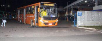 Transporte coletivo volta a funcionar com 50% da frota em Ponta Grossa