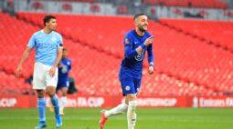 Chelsea vence Manchester City e avança para a final da Copa da Inglaterra