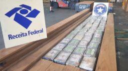 Receita Federal apreende três cargas de cocaína no Porto de Paranaguá