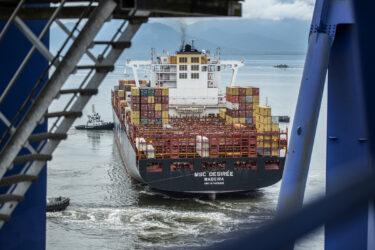 Sesa confirma três navios em quarentena por Covid-19 no Porto de Paranaguá