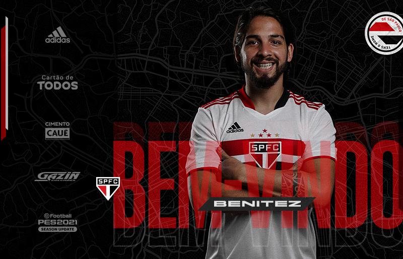São Paulo oficializa contratação de Martín Benítez, ex-Vasco