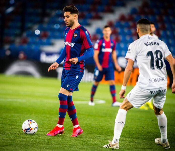Levante perde em casa para Huesca e estaciona no meio da tabela do Espanhol