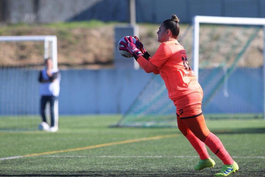 Quezia comemora permanência do Ourirense na primeira divisão do Português Feminino