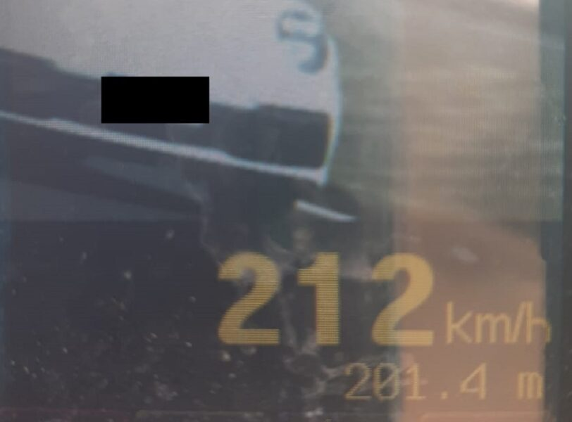 Excessos de velocidade passam de 110 mil; casos aumentaram 345% em 2021