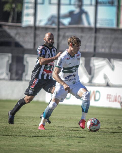 Jogando com os reservas, Coritiba perde a primeira na temporada