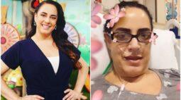 """Apresentadora, filha de Silvio Santos, é hospitalizada com covid: """"Muito fraca, debilitada"""""""