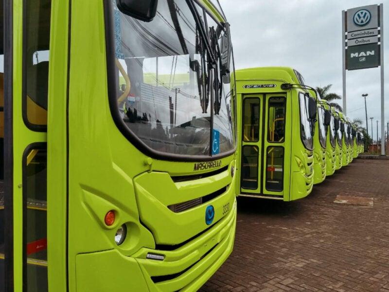 Transporte coletivo de Foz do Iguaçu funcionará apenas no horário de pico