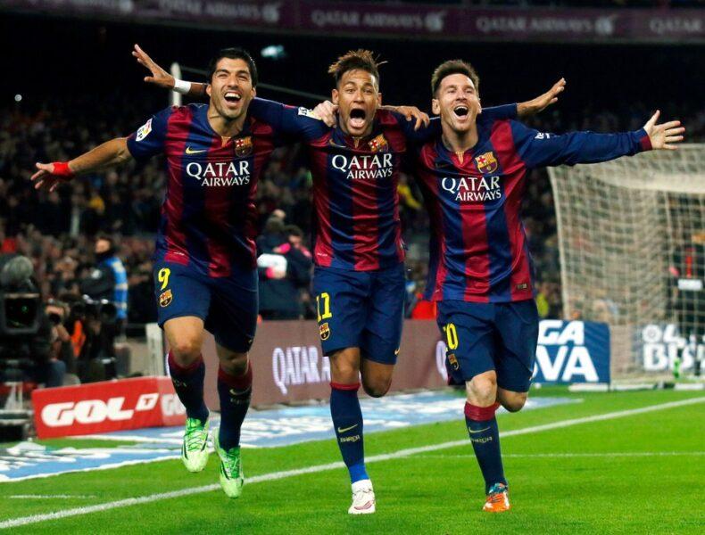 """Guardiola rasga elogios a Neymar e relembra trio MSN: """"Melhor que vi na vida"""""""