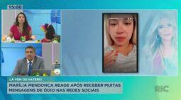 Marília Mendonça reage após receber muitas mensagens de ódio nas redes sociais