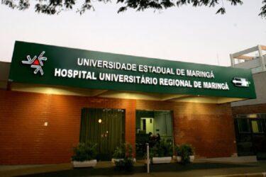 Hospital Universitário de Maringá contrata médicos, bioquímico e técnicos em enfermagem e radiologia