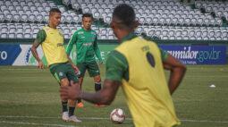 Coritiba terá mudanças para enfrentar o Azuriz; Marcão estreia no gol alviverde