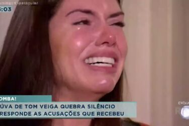Viúva de Tom Veiga quebra silêncio e responde as acusações que recebeu