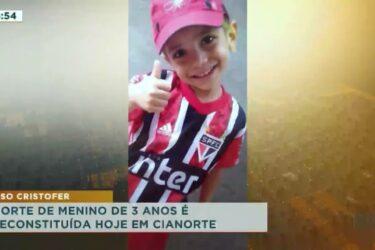 Morte de menino de 3 anos é reconstituída em Cianorte