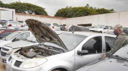 Leilão da Setran oferece 143 veículos com valores a partir de R$ 500