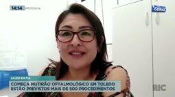 Saúde em dia: começa mutirão oftalmológico em Toledo e estão previstos mais de 500 procedimentos