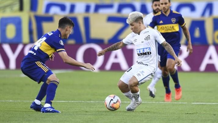 Caso avance na Libertadores, Santos terá Boca Juniors na fase de grupos