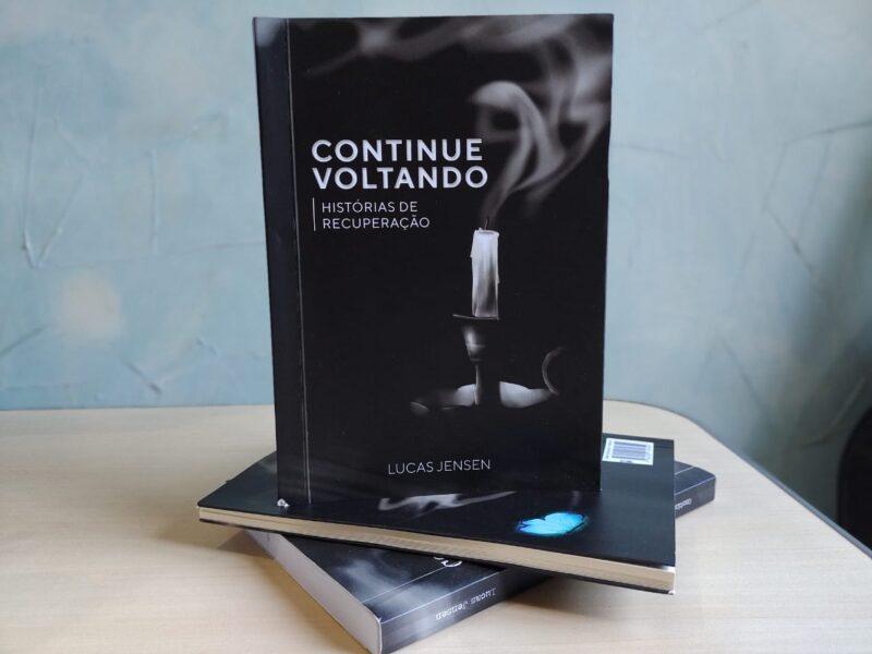 Livro conta histórias de dependentes químicos e a luta contra a adicção
