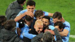 Manchester City vence Borussia Dortmund e irá enfrentar o PSG na semifinal da Liga dos Campeões