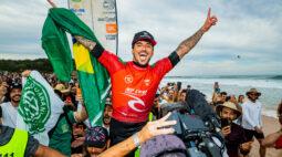 Gabriel Medina vence o Rip Curl Narrabeen Classic e avança no mundial