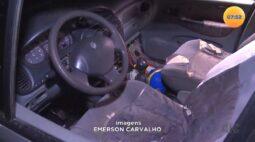 Maringá: em veículo abandonado, polícia encontra maconha e criança de 5 anos aos prantos