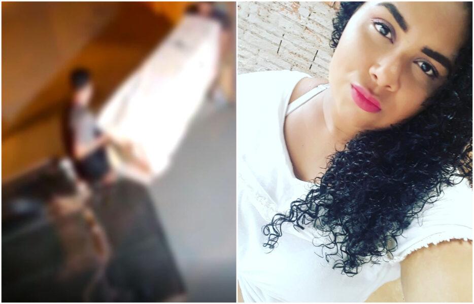 Imagens mostram suspeito colocando guarda-roupa com mulher morta em carro