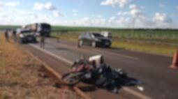 Motociclista morre em acidente na BR-467, em Cascavel; caminhoneiro fugiu