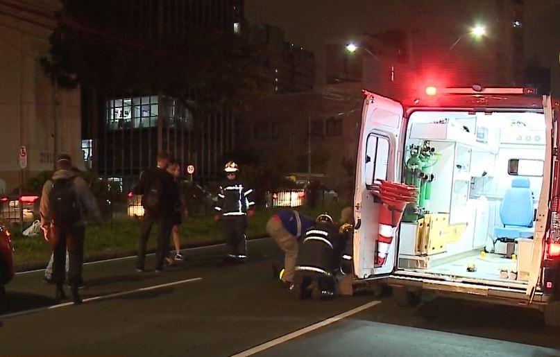 Motorista entra em estado de choque após atropelar pedestre em Curitiba