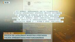 Polícia de Cafelândia investiga atestados falsos apresentados por funcionários