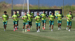 Palmeiras treina em Brasília visando clássico contra o São Paulo