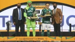 Weverton e Veiga alcançam marcas expressivas pelo Palmeiras