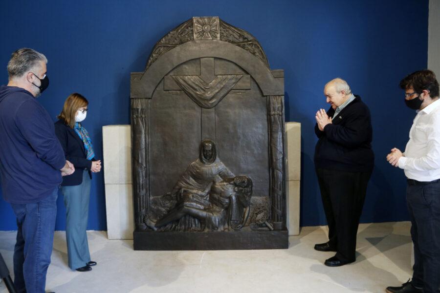 Obra inédita de Turin está entre as novas peças do Memorial Paranista, em Curitiba