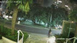 Polícia divulga novas imagens de suspeitos envolvidos em atentado contra Guilherme Grabarski