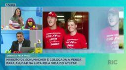 Mansão de Schumacher é colocada a venda para ajudar na luta pela vida do atleta