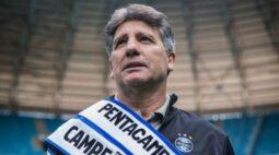 Após eliminação na pré-Libertadores, Renato Gaúcho não é mais técnico do Grêmio