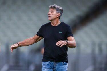 Com sintomas de covid-19, Renato Gaúcho não viaja ao Equador
