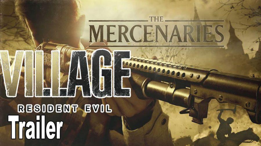 """Resident Evil Village terá o retorno do modo """"Os Mercenários"""""""