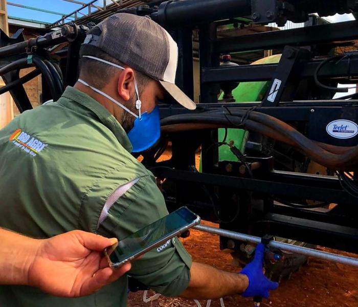 Tecnologia evita desperdício e facilita o trabalho em plantações de soja e algodão