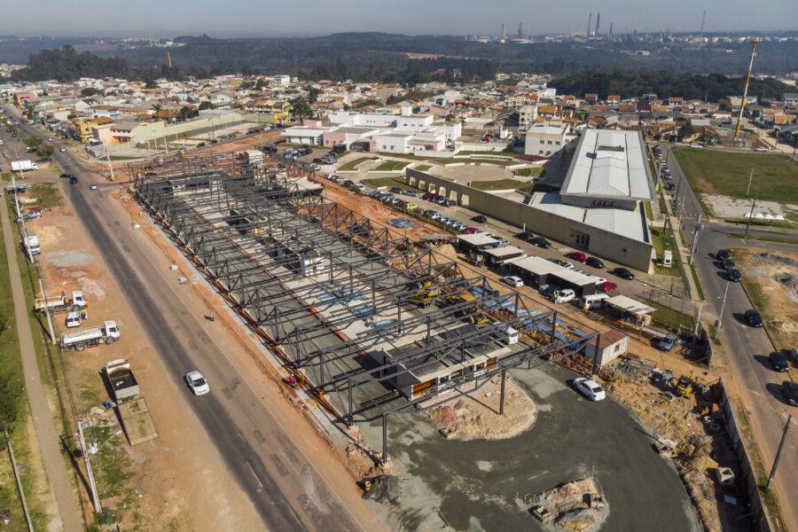 Terminal do Tatuquara inicia fase final da construção