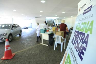 Vacina contra Fome arrecada mais de 1 tonelada de alimentos em Maringá